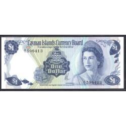 Каймановы Острова 1 доллар 1971 г. (CAYMAN ISLANDS 1 Dollar L. 1971) P1a:Unc