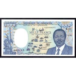Камерун 1000 франков 1985 г. (CAMEROON 1000 Francs 1985) P25:Unc