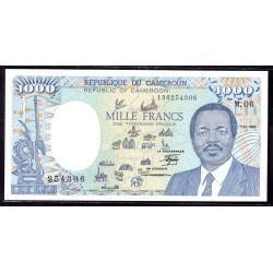 Камерун 1000 франков 1989 г. (CAMEROON 1000 Francs 1989) P26а:Unc