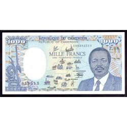 Камерун 1000 франков 1990 г. (CAMEROON 1000 Francs 1990) P26b:Unc