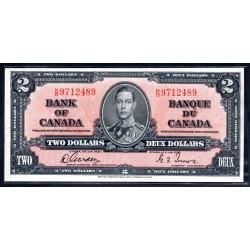 Канада 2 доллара 1937 г. (CANADA 2 dollars 1937 g.) P59b:XF