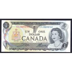 Канада 1 доллар 1973 г. (CANADA 1 dollar 1973 g.) P85с:Unc