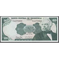 Венесуэла 20 боливаров 1974 года (Venezuela 20 Bolivares 1974) P 53a: UNC