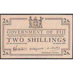 Фиджи 2 шиллинга 1942 года (FIJI  2 Shillings 1942) P 50: UNC-/UNC