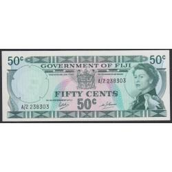 Фиджи 50 центов 1969 года (FIJI  50 Cents 1969) P 58a: aUNC /UNC