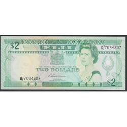 Фиджи 2 доллара 1988 года (FIJI  2 dollars 1988) P 87: UNC
