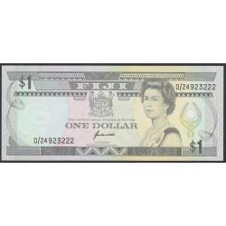 Фиджи 1 доллар 1993 года (FIJI  1 dollar 1993) P 89: UNC