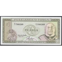 Тонга 1 па'анга 1992-95 года (Tonga 1 pa'anga 1992-95) P 25: UNC