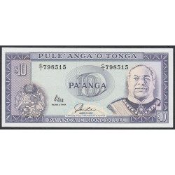 Тонга 10 па'анга 1992-95 года (Tonga 10 pa'anga 1992-95) P 28: UNC