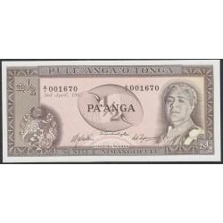 Тонга 1/2 па'анга 1967 года (Tonga 1/2 pa'anga 1967) P 13a: UNC