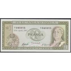 Тонга 1 па'анга 1967 года (Tonga 1 pa'anga 1967) P 14b: UNC