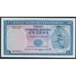Тимор 50 эскудо 1967 года (TIMOR 50 escudos 1967) P 27a (2): UNC