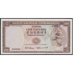 Тимор 100 эскудо 1963 года (TIMOR 100 escudos 1963) P 28a (2): UNC