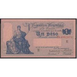Аргентина 1 песо 1897 г. (1908-1935 г.) (ARGENTINA 1 peso 1897 (1908-1935 year)) P243:Unc-