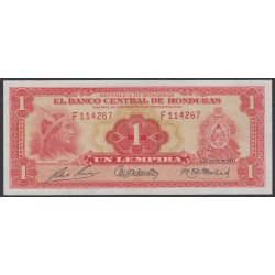 Гондурас 1 лемпира 1951 г. (HONDURAS 1 Lempira 1951) P45b:UNC
