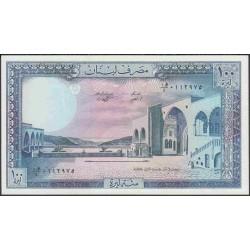 Ливан 100 ливр 1988 г. (Lebanon 100 livres 1988 year) P66d:Unc