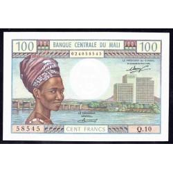 Мали 100 франков ND (1972-1973 г.) (MALI 100 Francs ND (1972-1973)) P11:Unc