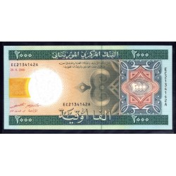 Мавритания 2000 огуйя 2006 год (Mauritania 1000 Ouquiya 2006 g.) P14b:Unc