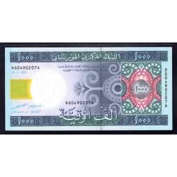 Мавритания 1000 огуйя 2006 год (Mauritania 1000 Ouquiya 2006 g.) P13b:Unc