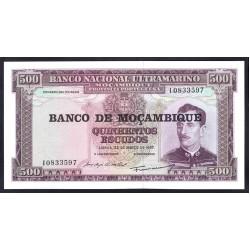 Мозамбик 500 эскудо 1967 (1976 г.) (MOZAMBIQUE 500 Escudos 1967 (1976)) P118:Unc