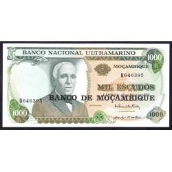 Мозамбик 1000 эскудо 1972 (1976 г.) (MOZAMBIQUE 1000 Escudos 1972 (1976)) P119:Unc