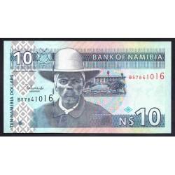 Намибия 10 долларов ND (NAMIBIA 10 Namibia Dollars ND) P4с:Unc