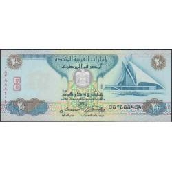 ОАЭ 20 дирхам 2000 г. (UAE 20 dirhams 2000 year) P21b:Unc