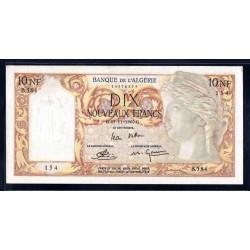 Алжир 10 новых франков 1960 год (Algeria 10 nouveaux francs 1960g.) P119a:aUnc