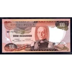 Ангола 100 эскудо 1972 год (Angola 100 escudo 1972g.) P101:Unc