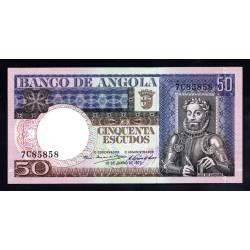 Ангола 50 эскудо 1973 год (Angola 50 escudo 1973g.) P105:Unc