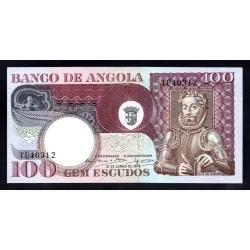 Ангола 100 эскудо 1973 год (Angola 100 escudo 1973g.) P106:Unc
