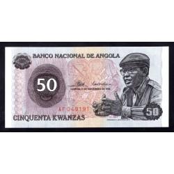 Ангола 50 кванза 1976 год (Angola 50 kwanzas 1976g.) P110:Unc