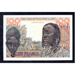 Западные Африканские Штаты (Бенин) 100 франков 1965 год (West African States (Benin) 100 francs 1965g.) P201b:Unc