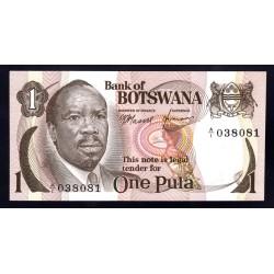 Ботсвана 1 пула ND (1976 - 79 год) Botswana 1 pula ND (1976 - 1979g.) P1a:Unc