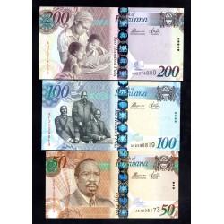 Ботсвана набор из 5-ти банкнот (2012 - 2014 г.г.) (Botswana nabor 5 banknot Unc (2012 - 2014 г.г.))