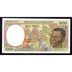 Габон 1000 франков ND (1993 - 2000г.)  (Gabonaise 1000 francs ND (1993 - 2000g.)) P402L:Unc