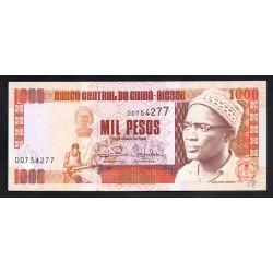 Гвинея - Биссау 1000 песо 1993 год (GUINE-BISSAU 1000 pesos 1993 g.) P13b:Unc
