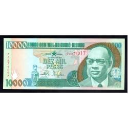 Гвинея - Биссау 10000 песо 1990 год (GUINE-BISSAU 10000 pesos 1990 g.) P15a:Unc