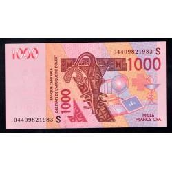 Западные Африканские Штаты (Гвинея - Биссау) 1000 франков 2003 года (West African States (GUINE-BISSAU) 1000 francs 2003 g.) P915S:Unc