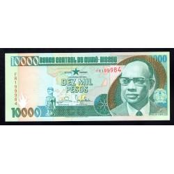 Гвинея - Биссау 10000 песо 1993 год (GUINE-BISSAU 10000 pesos 1993 g.) P15:Unc