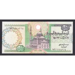 Египет 20 фунтов ND (1988 - 1992 год) (EGYPT 20 pound ND (1988 - 1992 g.)) P52c:Unc