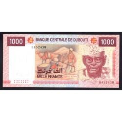 Джибути 1000 франков 2005 год (Djibouti 1000 francs 2005 g.) P42a:Unc