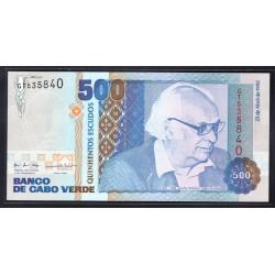 Кабо Верде 500 эскудо 1992 год (CABO VERDE 500 escudos 1992 g.) P64a:Unc