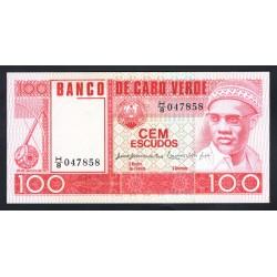 Кабо - Верде 100 эскудо 1977 год (CABO VERDE 100 escudos 1977g.) P54:Unc