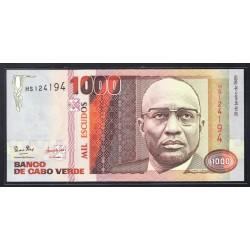 Кабо Верде 1000 эскудо 1989 год (CABO VERDE 1000 escudos 1989 g.) P60:Unc