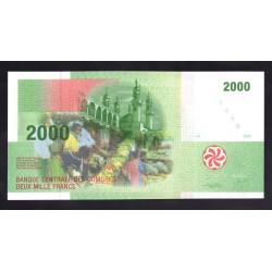 Коморские Острова 2000 франков 2005 год (COMORES 2000 francs 2005 g.) P17:Unc