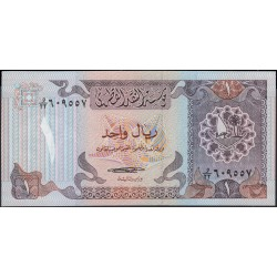Катар 1 риал б/д (1985 г.) (Qatar 1 riyal ND (1985 year)) P13a:Unc