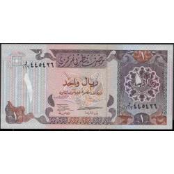 Катар 1 риал б/д (1996 г.) (Qatar 1 riyal ND (1996 year)) P14a:Unc