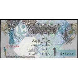 Катар 1 риал б/д (2003 г.) (Qatar 1 riyal ND (2003 year)) P20:Unc