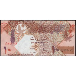 Катар 10 риалов б/д (2003 г.) (Qatar 10 riyals ND (2003 year)) P22:Unc